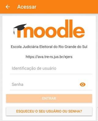 Usuário Moodle