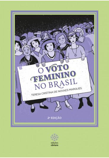 capa livro voto feminino