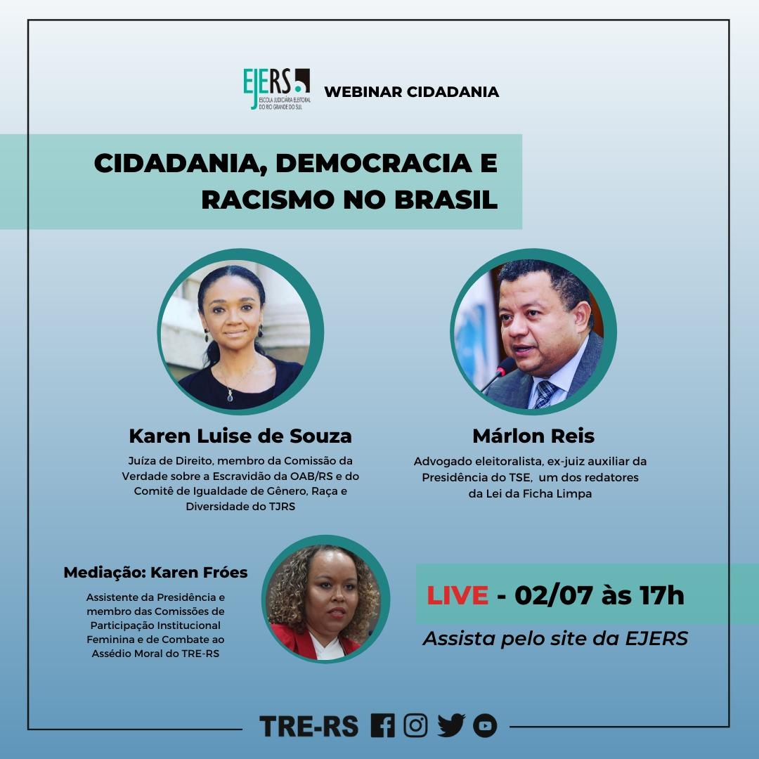 CIDADANIA, DEMOCRACIA E RACISMO NO BRASIL